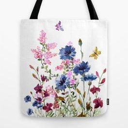 Wildflowers IV Tote Bag