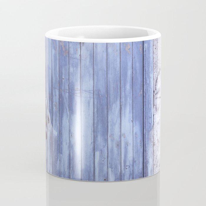 Old Blue Door Coffee Mug