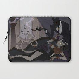 Anubis and Bastet Laptop Sleeve