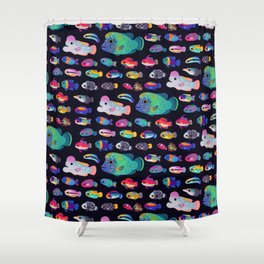 Wrasse! Shower Curtain
