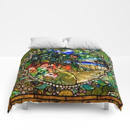 Louis Comfort Tiffany - Decorative stained glass 19. Comforters