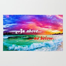 As Above So Below Rug