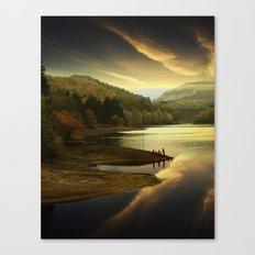 Derwent Sunset Canvas Print