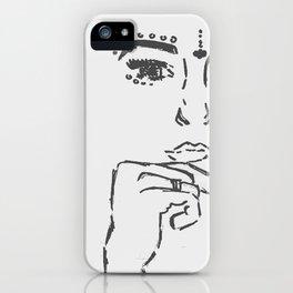 Boho Girl iPhone Case