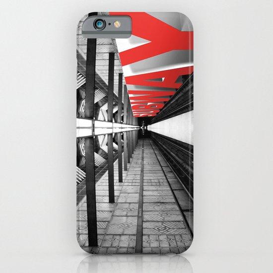 LA subway iPhone & iPod Case