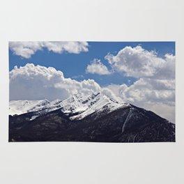 Tenmile Range From Lake Dillon Rug
