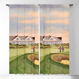 Kiawah Island Ocean Golf Course Blackout Curtain