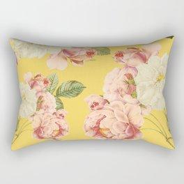 Flora temptation - sunny mustard Rectangular Pillow