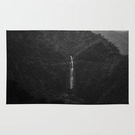 1950s waterfall Rug