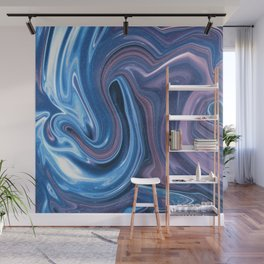 Fluid No. 2 - Waves in Space Wall Mural