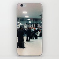 train iPhone & iPod Skins featuring train  by Anatomy|Geography