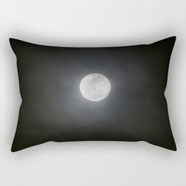 First Full Moon of 2018 Rectangular Pillow
