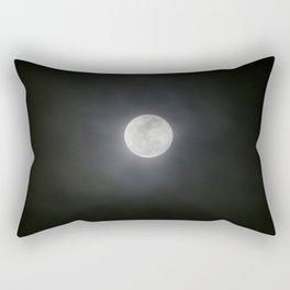 First Full Moon of 2018 Rectangular Pillow