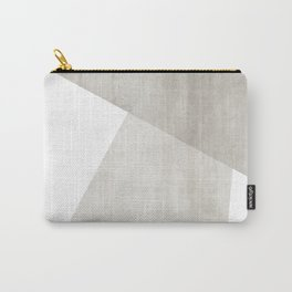 Structure   Abstract in Neutral Carry-All Pouch