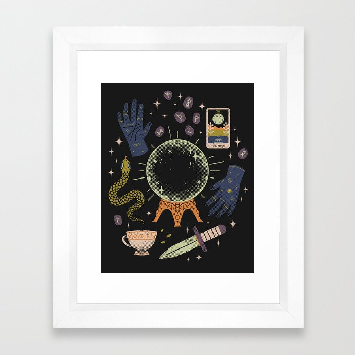 I See Your Future Framed Art Print