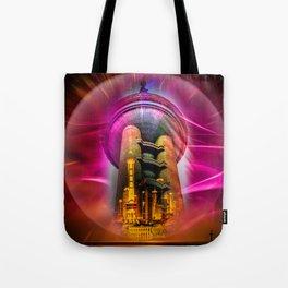 China Art Pearl Tower Tote Bag