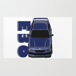 Awsome E36 Car Rug