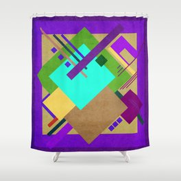 Geometric illustration 41 Shower Curtain