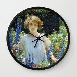 Charles Courtney Curran Betty Gallowhur Wall Clock