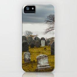 Old Burial Hill, Salem, MA iPhone Case