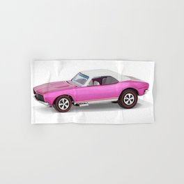 Hot Wheels Pink Party 427 SS Pony Car 67 Redline with white hardtop Hand & Bath Towel