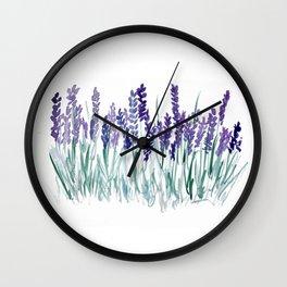 Larkspurs Wall Clock