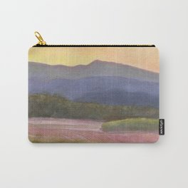 Setting sun over cane field in country NSW Carry-All Pouch