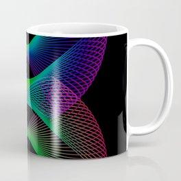 Rainbow spiral slinky spring Coffee Mug