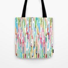 vertical brush strokes  Tote Bag