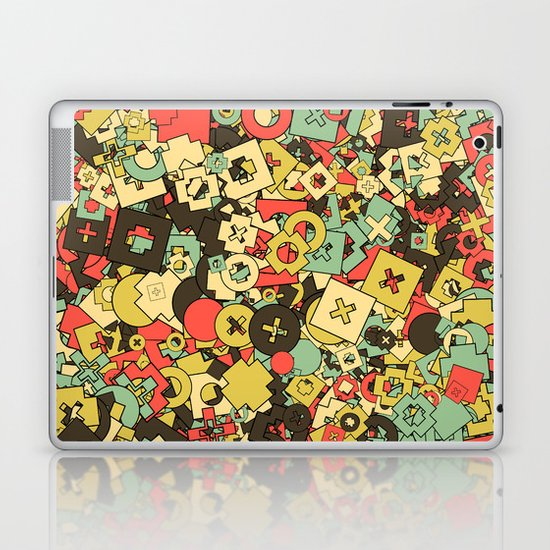 Nineteen Shapes Laptop & iPad Skin