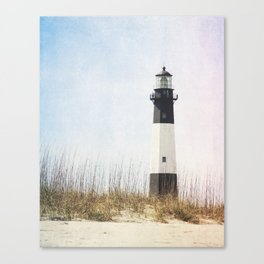 Tybee Lighthouse Canvas Print