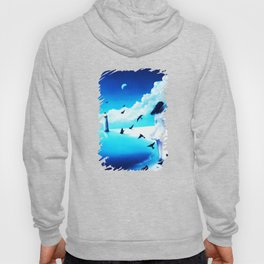 Lighthouse At The Sea Hoody