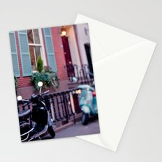 The blue shades Stationery Cards