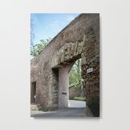 Alhambra Entrance Metal Print