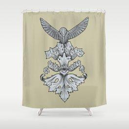 Feeder Shower Curtain