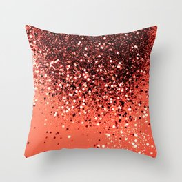 Cali Summer Vibes Lady Glitter #8 #shiny #decor #art #society6 Throw Pillow
