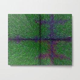 Abstract  Dimensional Art Metal Print