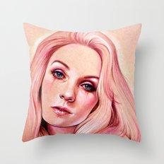 Raspberry Throw Pillow