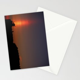 Sunset Torch Stationery Cards