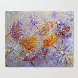 Purple Blaze Canvas Print