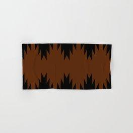 Geometric Southwestern Minimalism - Desert Orange Hand & Bath Towel