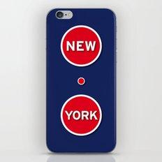 New York Manhattan USA iPhone & iPod Skin
