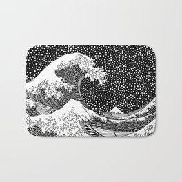 The wave of Hokusai Bath Mat
