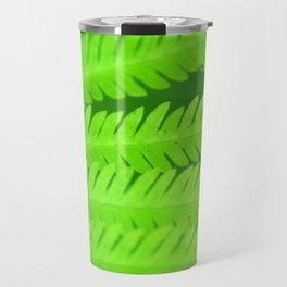 a green Fern Travel Mug