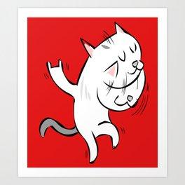 rockcat Art Print