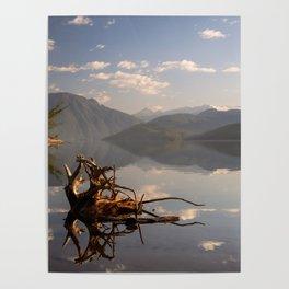 Duncan Lake Three Poster