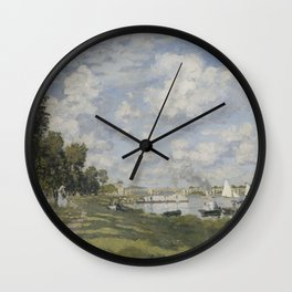 Bassin d'Argenteuil Wall Clock