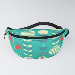 Happy modern floral decoration Fanny Pack