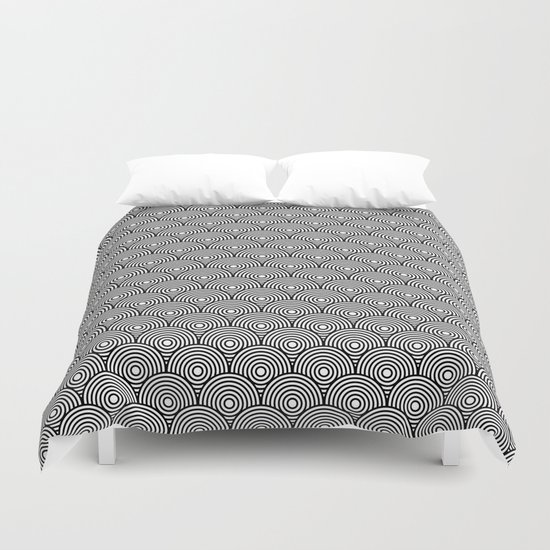 circles pattern Duvet Cover