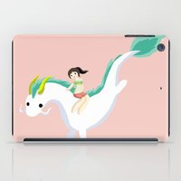 spirited away iPad Cases featuring Spirited Away by Mayying